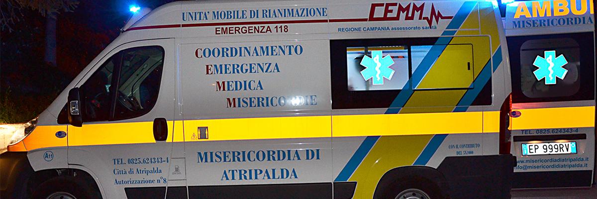 Ambulanze 118 - Misericordia di Atripalda